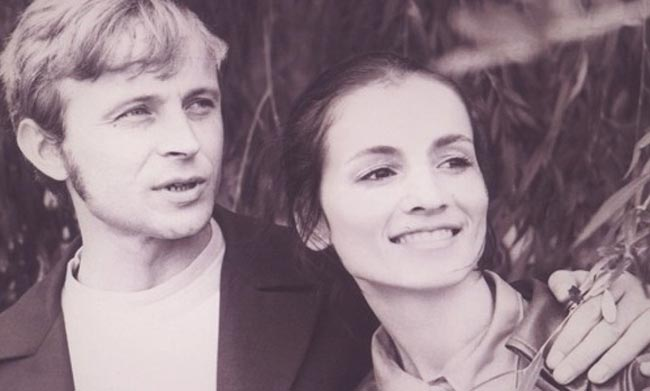 с мужем Анатолием Евдокименко