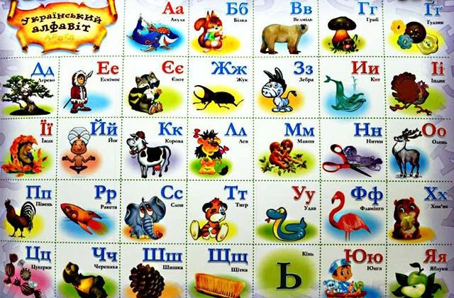 сколько букв в украинском алфавите